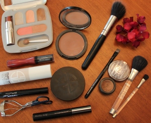 make-up products mentioned in post