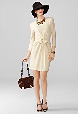 sidney bow dress